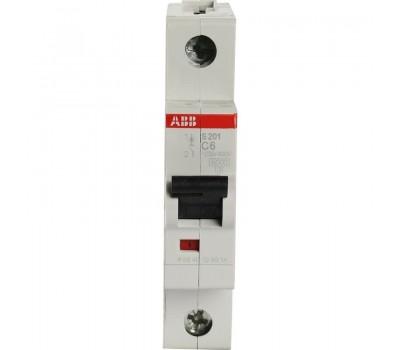 ABB С16А S201, Автоматический выключатель AC однополюсный