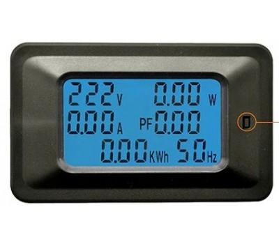6-в-1 измеритель напряжения, тока, мощности, коэффициента мощности, частоты переменного тока