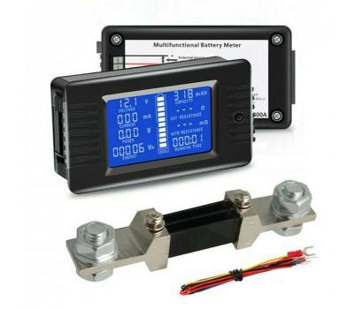 PZEM-015 DC измеритель параметров аккумуляторной батареи
