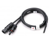 MC4 коннекторы для солнечных модулей с кабелем 10 м
