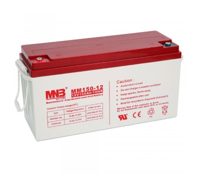 12В Аккумулятор MNB MM 150-12, 150А*ч