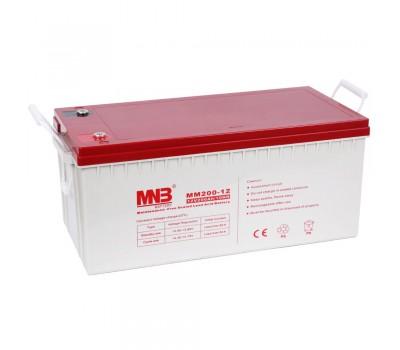 12В Аккумулятор MNB MM 200-12, 200А*ч