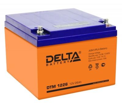 Аккумулятор Delta DTM 1226, 12 В