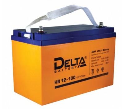 12В Аккумулятор Delta HR 12-100