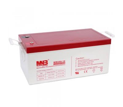 12В Аккумулятор MNB MM 250-12, 250А*ч