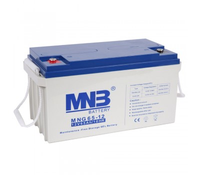 12В Аккумулятор MNB MNG 65-12, 65А*ч