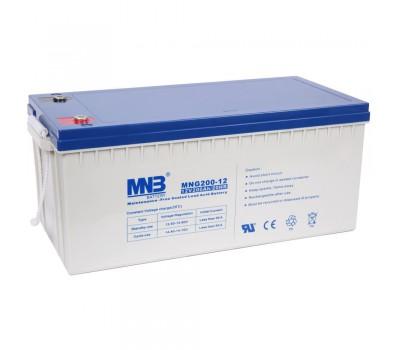 12В Аккумулятор MNB MNG 200-12, 200А*ч
