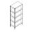 Стеллаж для СА4П-HZY12-230 на 5 полок