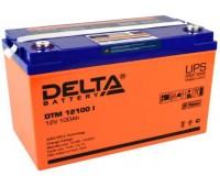 Аккумулятор Delta DTM 12100 I, 12 В
