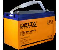 Аккумулятор Delta DTM 12100 L, 12 В