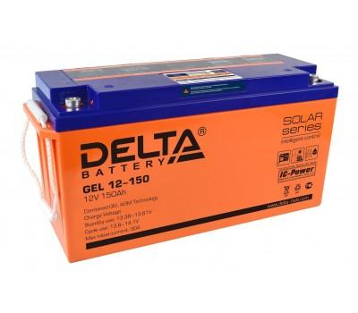 12В Аккумулятор Delta GEL 12-150, 150А*ч