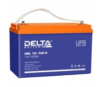 12В Delta HRL-X 12-100, 100А*ч Аккумулятор