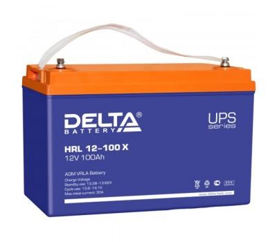 12В Аккумулятор Delta HRL-X 12-100, 100А*ч