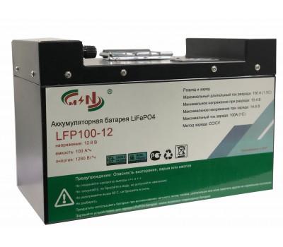 12В 100А*ч LFP100-12 Аккумулятор литий-железо-фосфатный LiFePo4