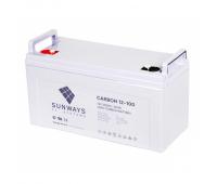 12В Sunways Carbon 12-200, Аккумулятор карбоновый LPbC