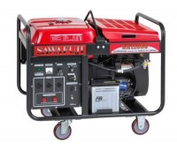 Honda GX630, 8,5 кВт, ELEMAX Бензиновый генератор с двигателем