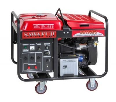 ELEMAX Бензиновый генератор с двигателем Honda GX630, 8,5 кВт