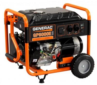 Бензиновый генератор Generac GP6000E 6 кВт