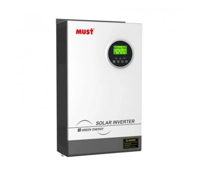 Автономный гибридный инвертор MUST PH18-5248 PRO с ЗУ и MPPT солнечным контроллером