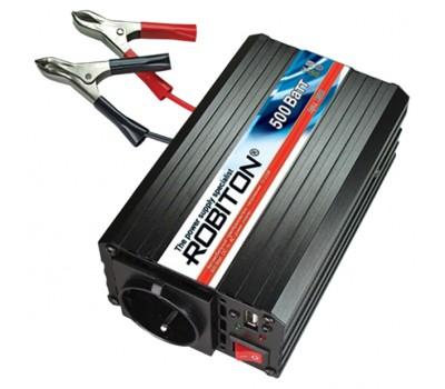 Robiton R500 инвертор с USB, 12V-220V