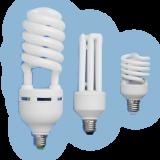 Люминесцентные энергосберегающие лампы с питанием от постоянного и переменного напряжения