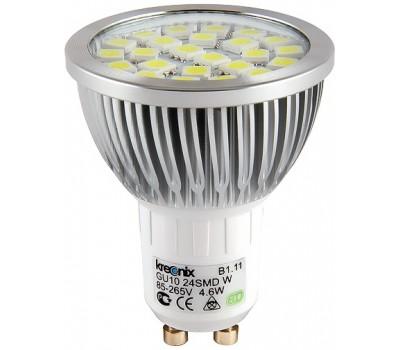 220В Светодиодная лампа ALM-JCDR-4,6W-GU10-CL