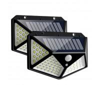 100 LED солнечный фонарь с датчиком движения