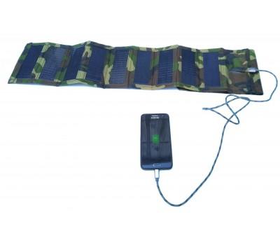Складная солнечная батарея для зарядки мобильных телефонов ТСМ-9-5