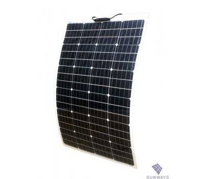 100 Вт ФСМ-100FS (12), гибкий, моно, Sunways, Солнечные панели