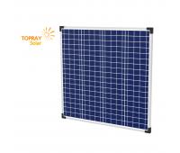 65 Вт TPS107S-65W 12В, поликристаллический солнечный модуль