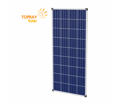 110 Вт TPS107S-110W 12В поли фотоэлектрический модуль, TopRay Solar, Солнечные панели