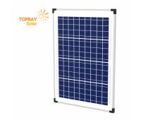 40 Вт TPS107S-40W 12В поли фотоэлектрический модуль