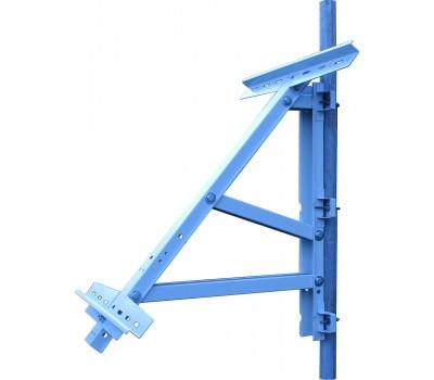 Егерь Кронштейн для крепления на столб солнечного модуля до 350 Вт