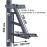 Егерь Кронштейн для крепления на столб солнечного модуля до 300 Вт