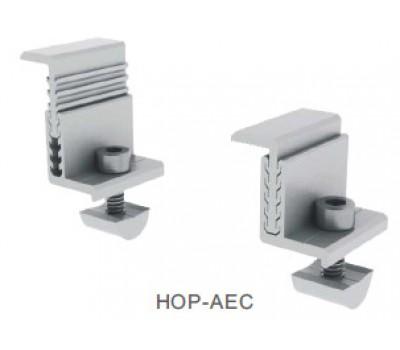 AEC зажим концевой регулируемый 35-50мм