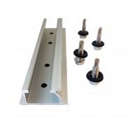 Мини-профиль для трапецеидальной крыши MR-VI-06 Mini Rail kit