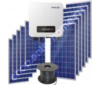 Сетевая ФЭС 3.3 кВт/17 кВт*ч с ограничением отдачи в сеть