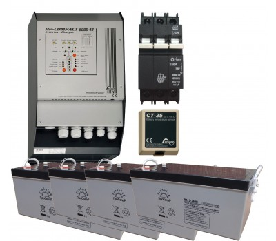 Система для резервного электроснабжения на базе HP Compact 6-8 кВА