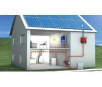 Фотоэлектрическая резервно-сетевая система 4/2 кВт