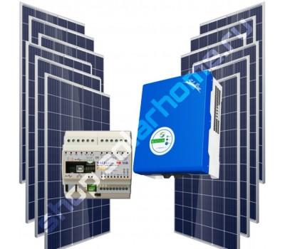 Сетевая фотоэлектрическая система 2,3 кВт + WATTRouter