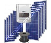 Сетевая ФЭС 5 кВт/25 кВт*ч с ограничением отдачи в сеть