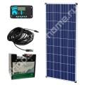 0.8 кВт*ч, 12 В DC, Комплект солнечный для дачи